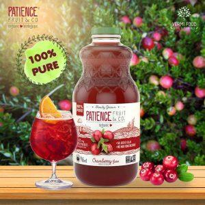 organic cranberry juice