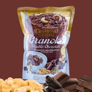 Diamond Grains Granola Double Chocolate