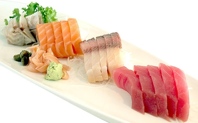 Sushi raw fish, Food to avoid during pregnancy