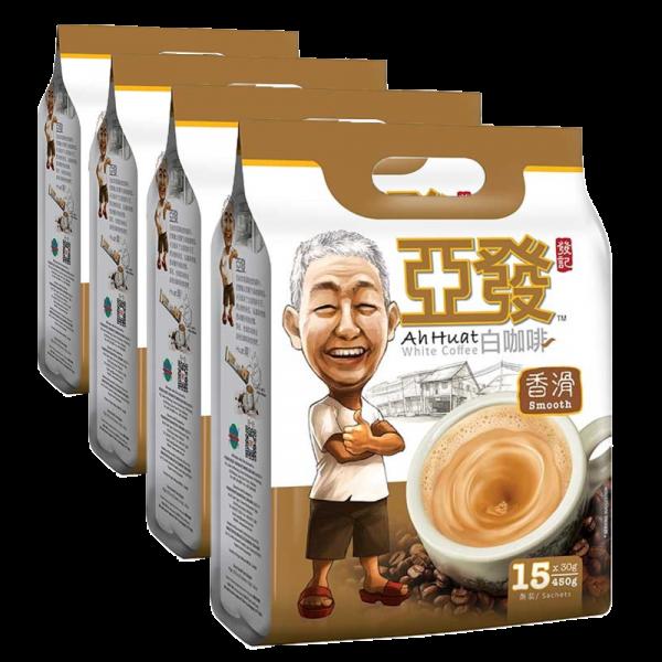 Ah Huat Premixed White Coffee Smooth