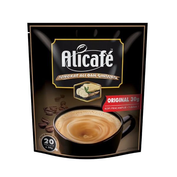 Alicafe Tongkat Ali and Ginseng Original Premixed Coffee