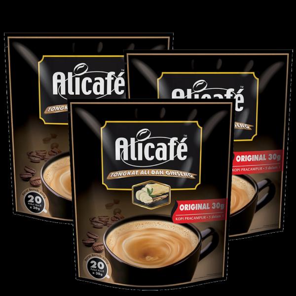 Alicafe Tongkat Ali and Ginseng Original Premixed Coffee