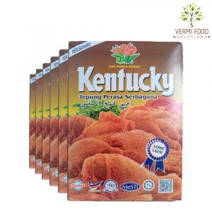 Bunga Merah Kentucky Flour
