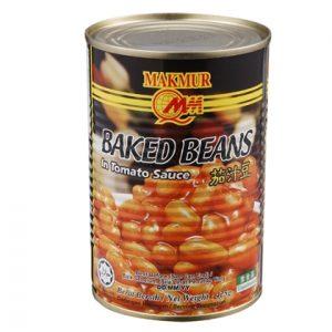 Makmur Brand Baked Beans In Tomato Sauce