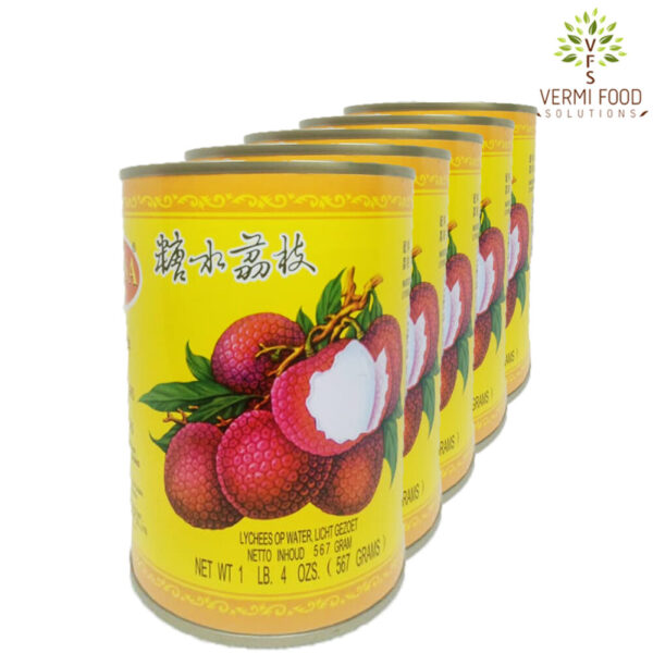 Ranesa Brand Lychees in Syrup