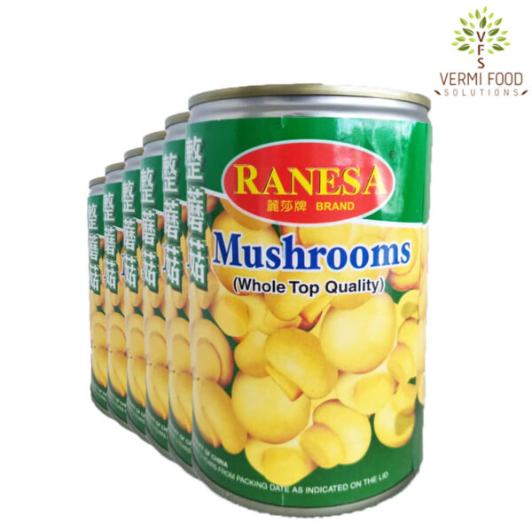 Ranesa Brand Whole Top Quality Mushrooms
