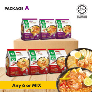 Bundle A Instant Vermicelli Tomyam AND Laksa