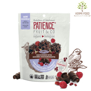 Patience Organic Chococrunch Bites Dark Chocolate & Raspberry