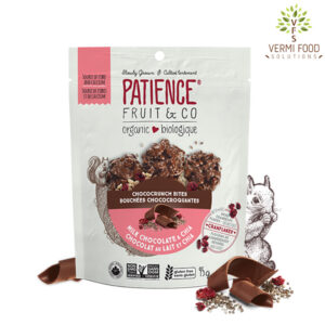 Patience Organic Chococrunch Bites Milk Chocolate and Chia